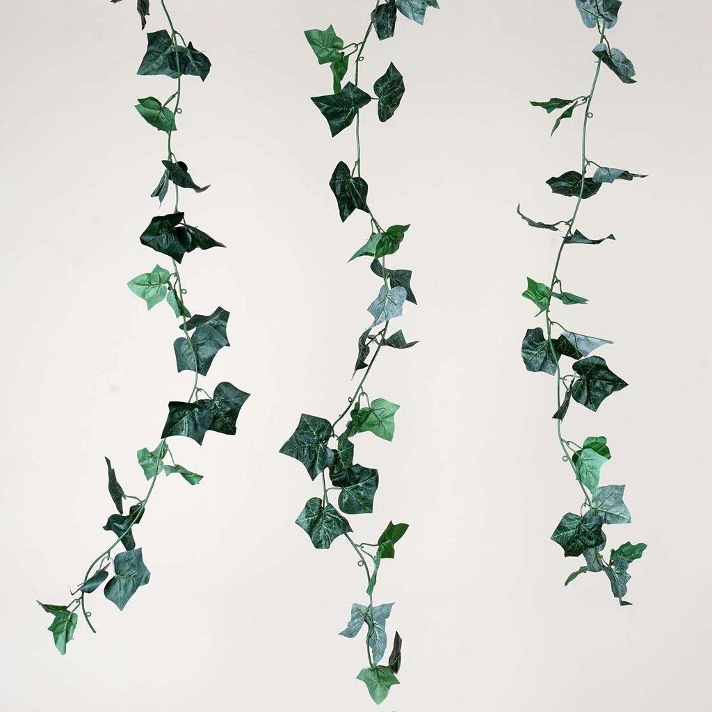 6FT Artificial Ivy Leaf Garland For Wedding Arch Gazebo Home Decor - 8PCS