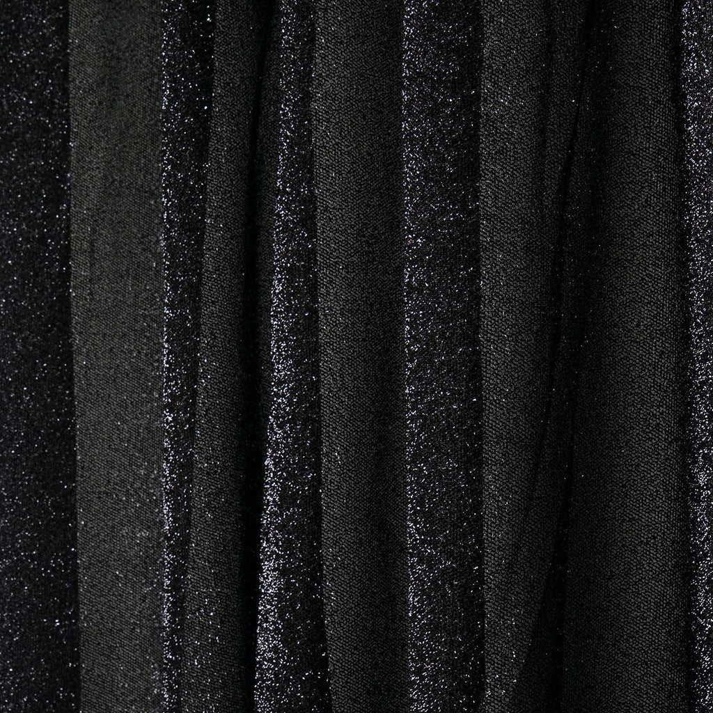 20ftx10ft Black Metallic Shiny Spandex Glittering Backdrop