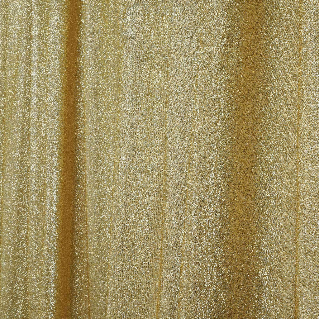 20ftx10ft Champagne Metallic Shiny Spandex Glittering Backdrop Wedding Party Event