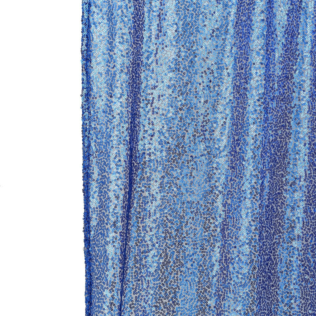 8ft x 8ft Royal Blue Sequin Backdrop | Sequin Photo Booth Backdrop