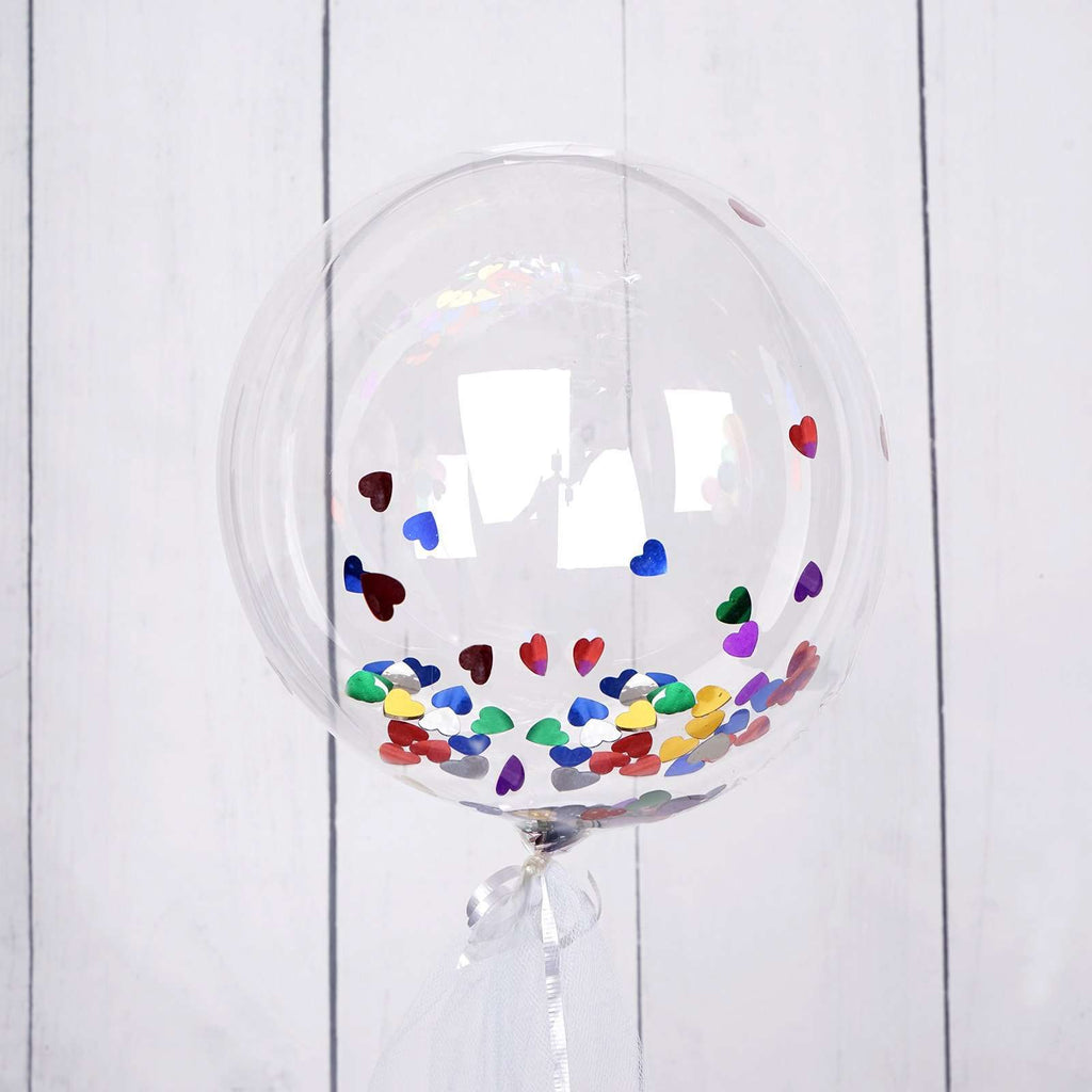 "10 Pack 18"" Ecofriendly Clear Transparent Latex Helium Air Balloons"