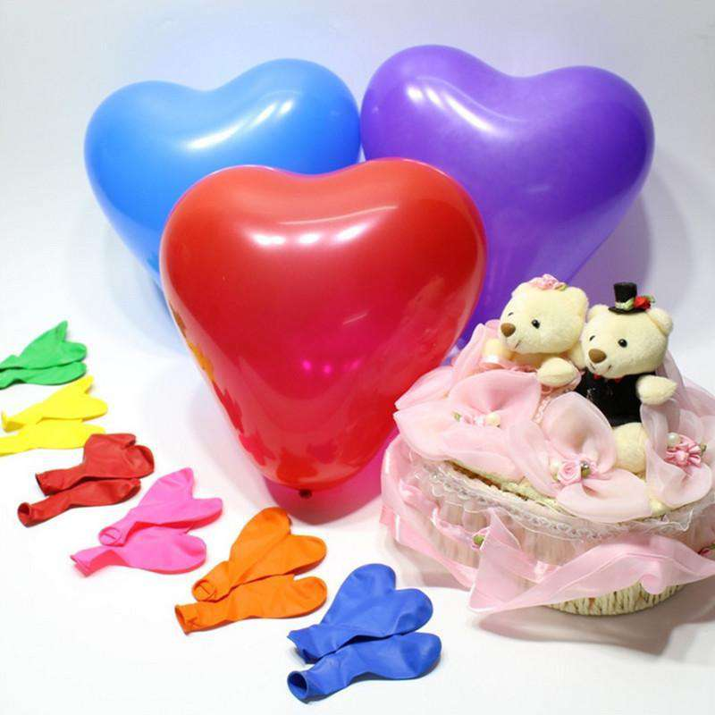 "12"" YOU'RE SPECIAL! Latex Heart Balloons- Purple-25/pk"