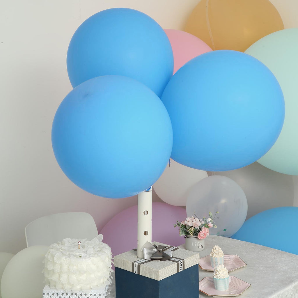 "10 Pack | 18"" Round Balloons Latex Party Balloons 