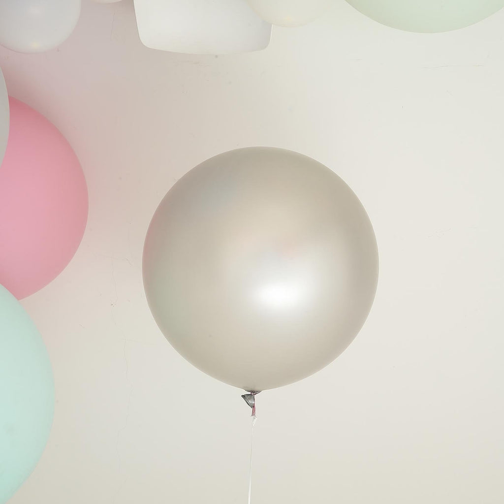 "2 Pack | 32"" Large Round Balloons Latex Helium Balloons 