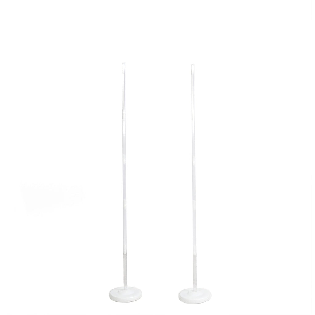 Set of 2 | 5 Ft Balloon Columns | Balloon Stand Kit