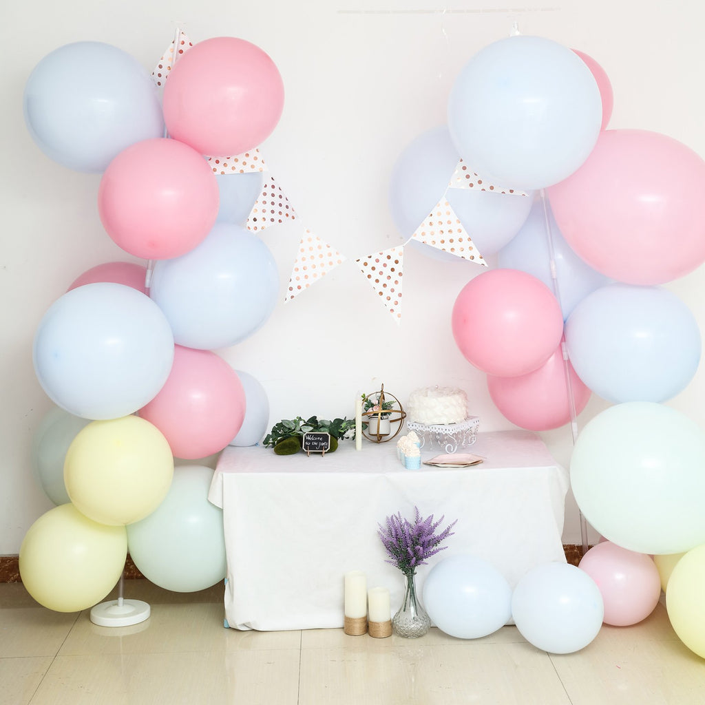 Set of 2 | 8 Ft Balloon Columns | Balloon Stand Kit