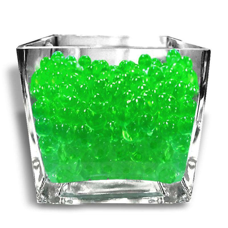 14g Apple Green BIG Round Deco Water Beads Jelly Vase Filler Balls For Centerpieces Table Decoration