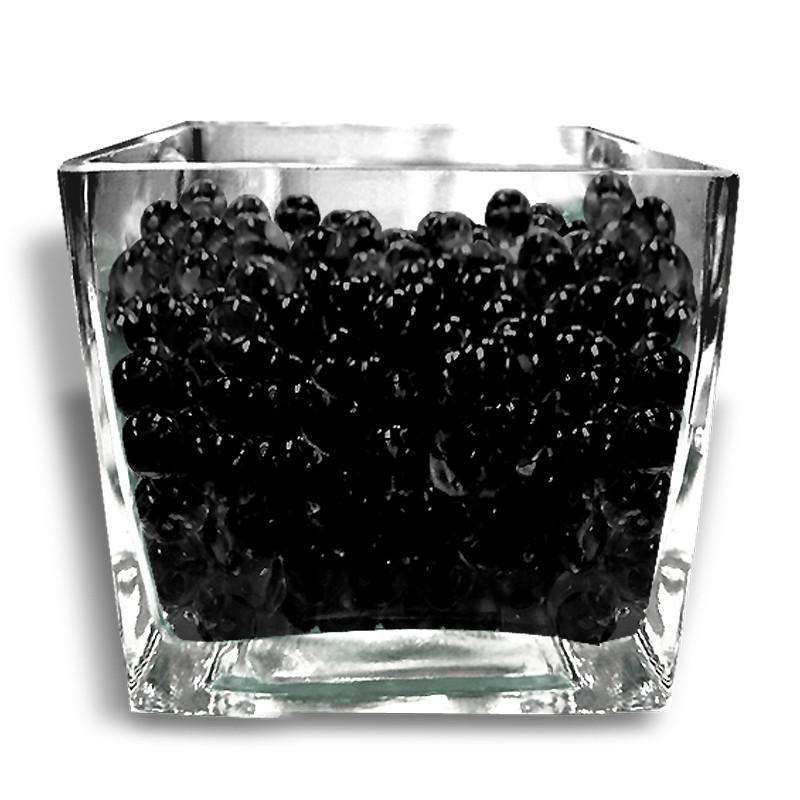 14g Black BIG Round Deco Water Beads Jelly Vase Filler Balls For Centerpieces Table Decoration