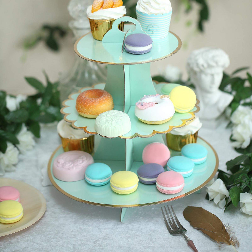 "3 Tier | 13"" Cardboard Cupcake Stand 