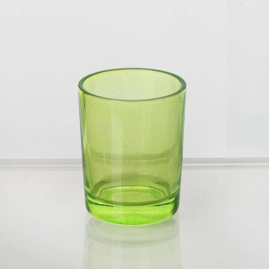 Apple Green Votive Holders-12/pk