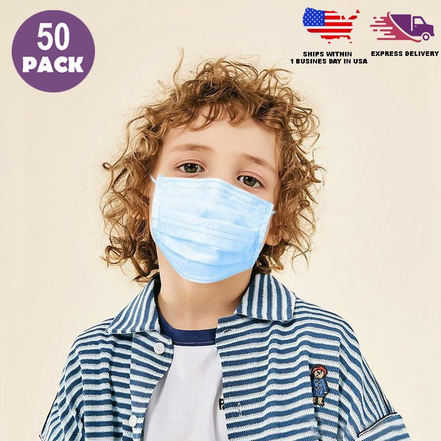 Child Face Mask Disposable - Kids Face Mask - Child Size Face Mask