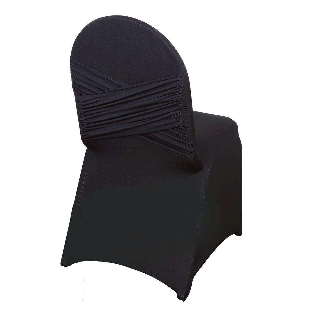 Chair Covers / Madrid Banquet - Black