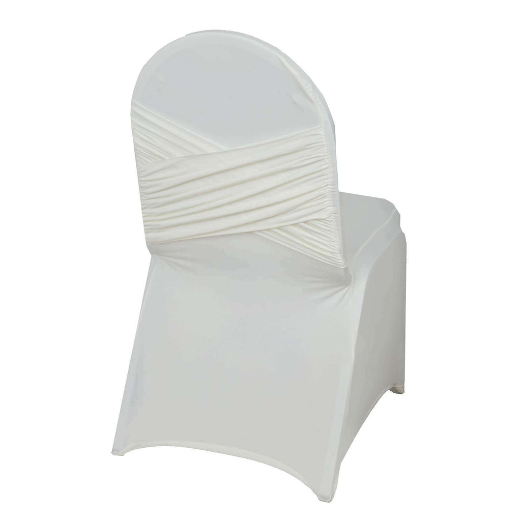 Chair Covers / Madrid Banquet - Ivory