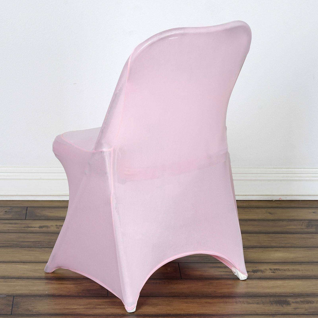 Chair Covers for Folding Chair / Spandex - Pink
