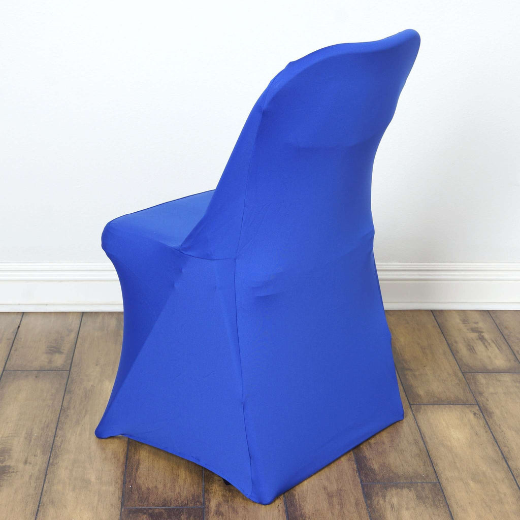 Chair Covers for Folding Chair / Spandex - Royal Blue