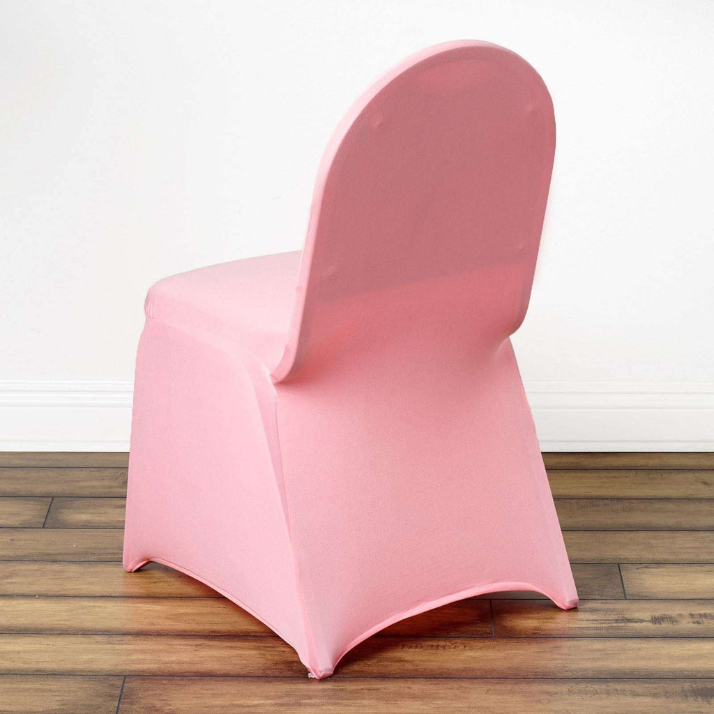 Chair Covers / Spandex - Rose Quartz