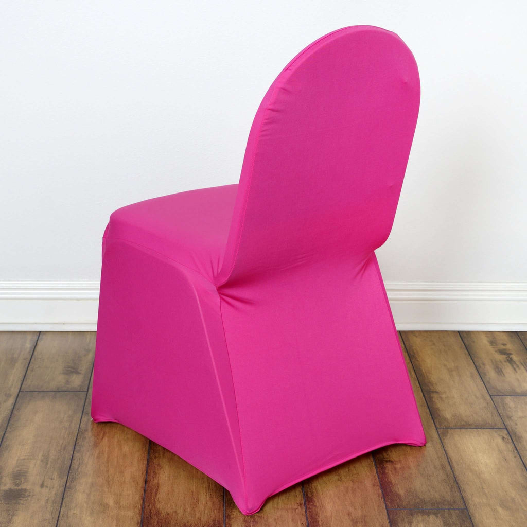 Chair Covers / Spandex - Fushia