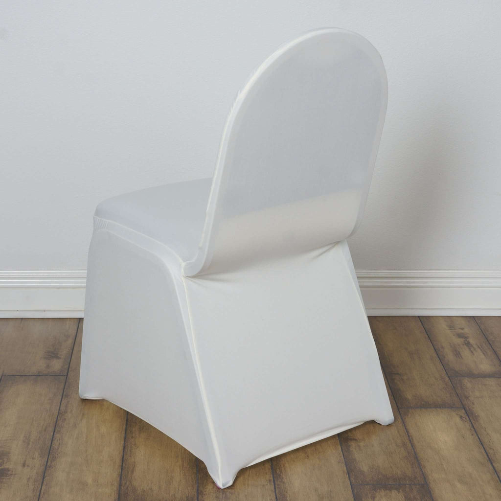 Chair Covers / Spandex - Ivory