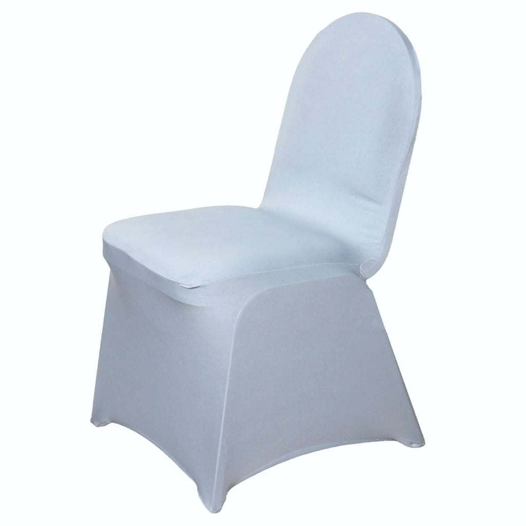 Chair Covers / Spandex - Silver
