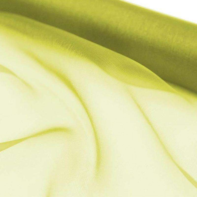 "Chiffon Fabric Bolt 12"" x 10Yards - Sage"