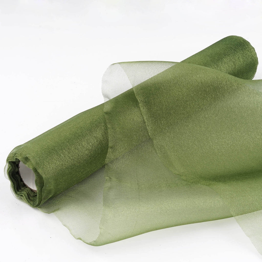 Chiffon Fabric Bolt 12 x 10Yards - Willow Green