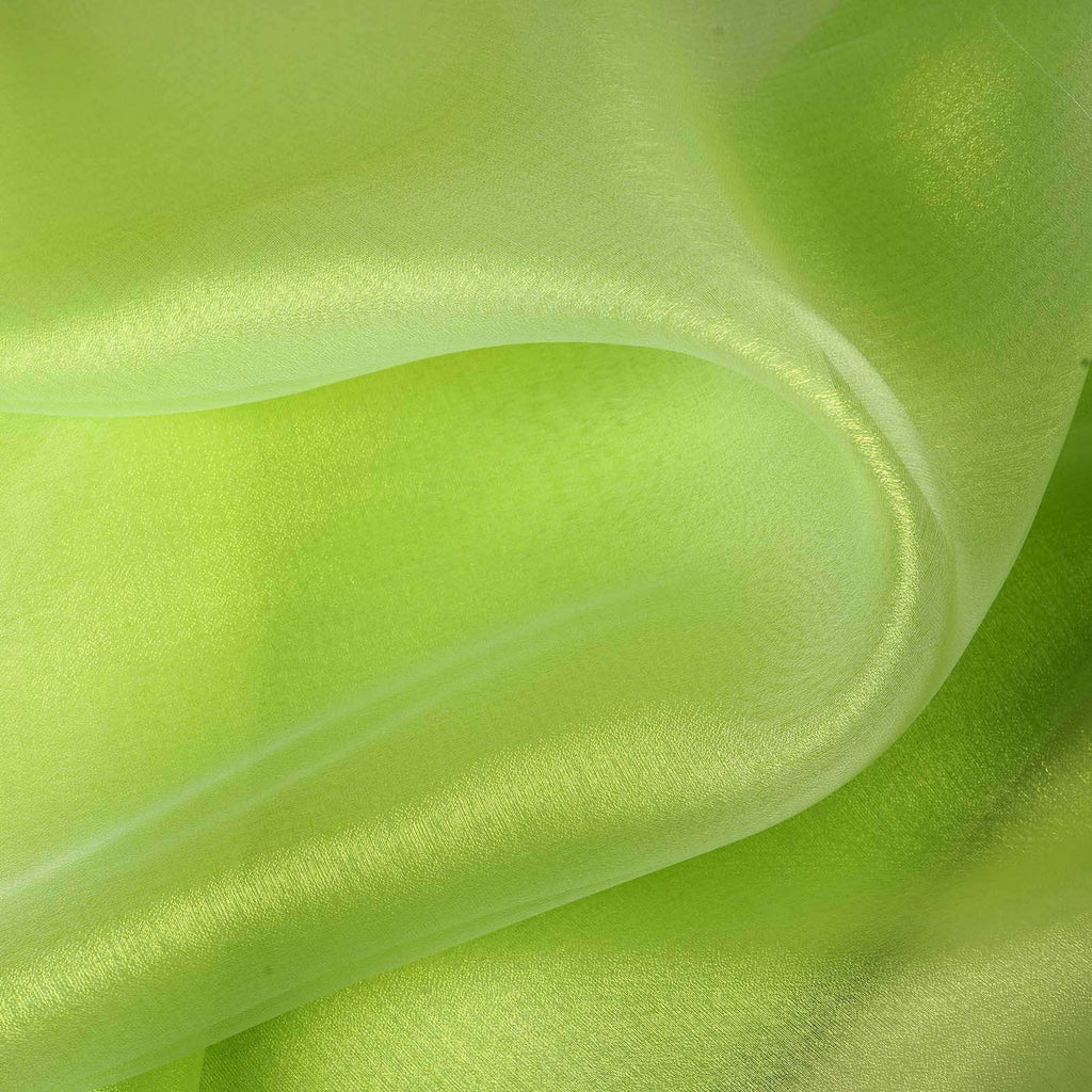 "Chiffon Fabric Bolt 54"" x 10Yards - Apple Green"