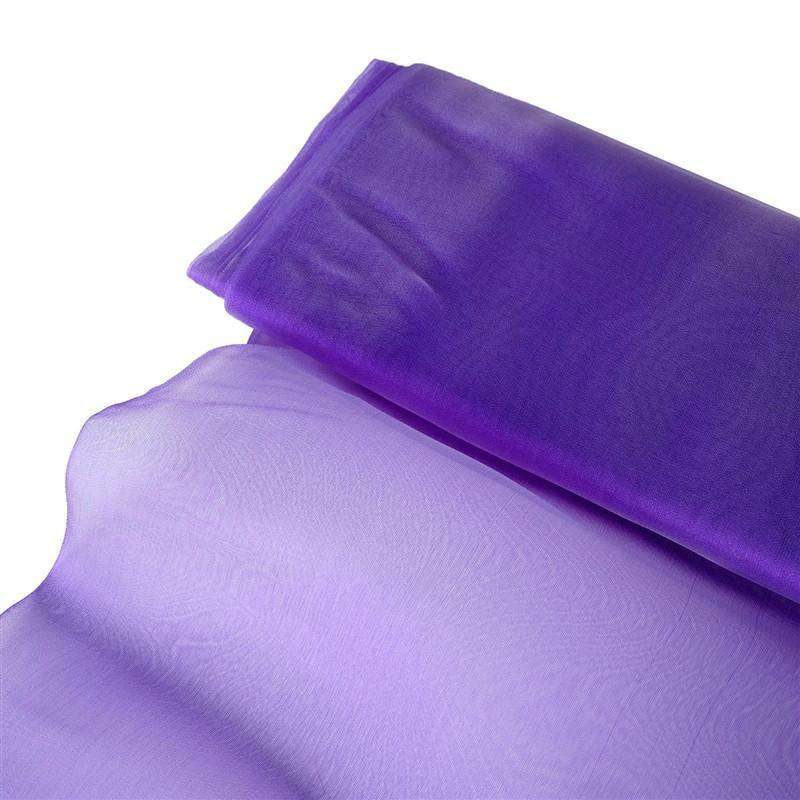 "Chiffon Fabric Bolt 54"" x 10Yards - Purple"