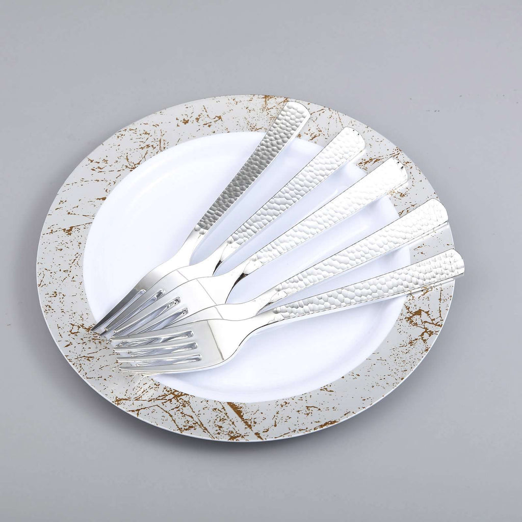 Plastic Forks Disposable | 7"