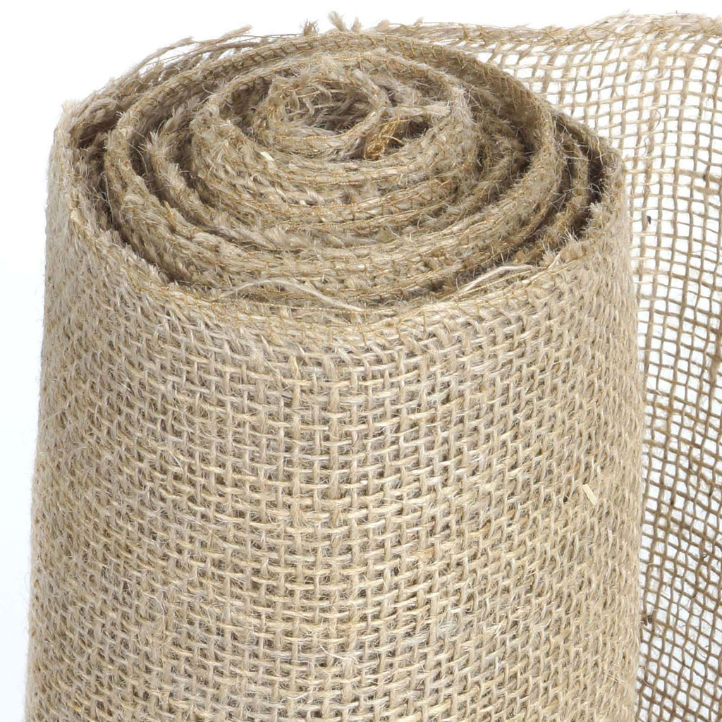 "Authentic Rustic Burlap Roll - Natural Tone 12""x10 Yards"