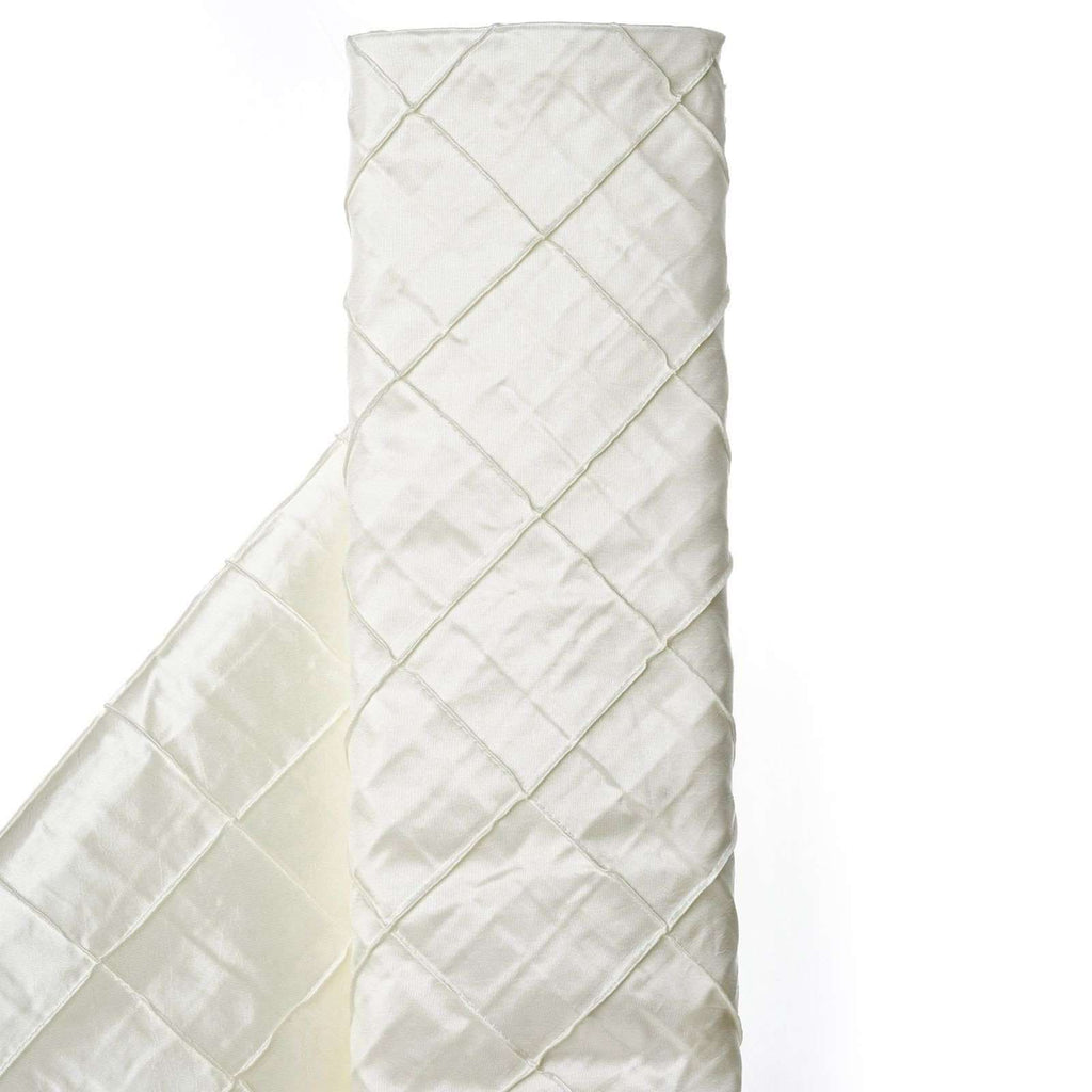 "I CAN'T STOP LOVIN PINTUCKS - 54"" x 10yards Ivory Fabric Bolt"