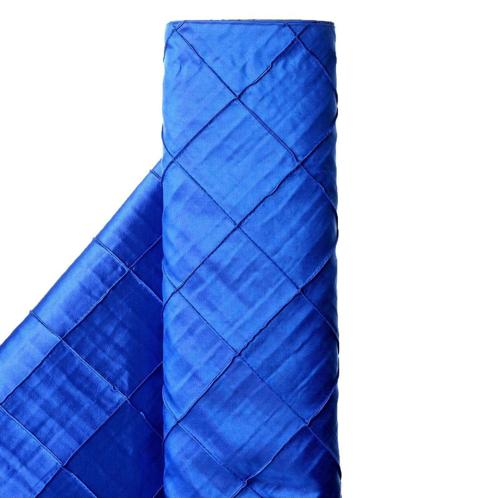 "I CAN'T STOP LOVIN PINTUCKS - 54"" x 10yards Royal Blue Fabric Bolt"
