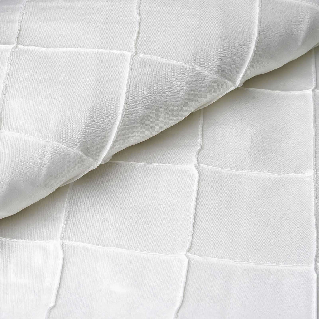 "I CAN'T STOP LOVIN PINTUCKS - 54"" x 10yards White Fabric Bolt"