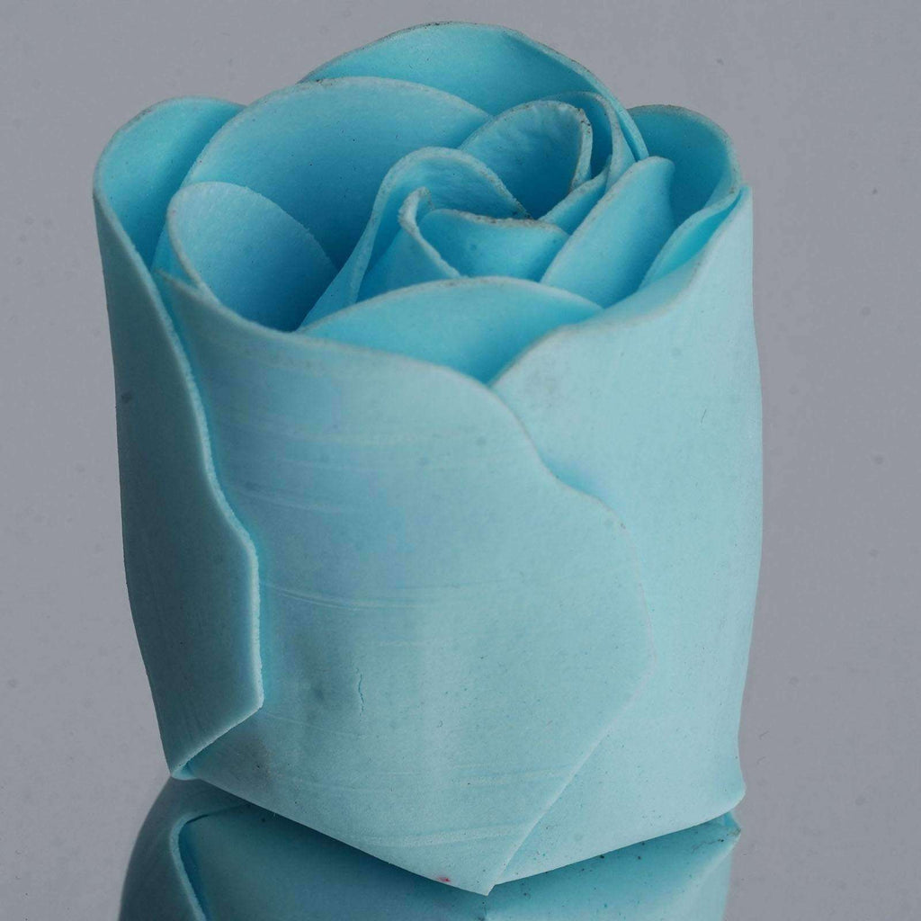 Wholesale Heart Rose Petal Soap Wedding Party Gift Favor Decoration - Lt. Blue