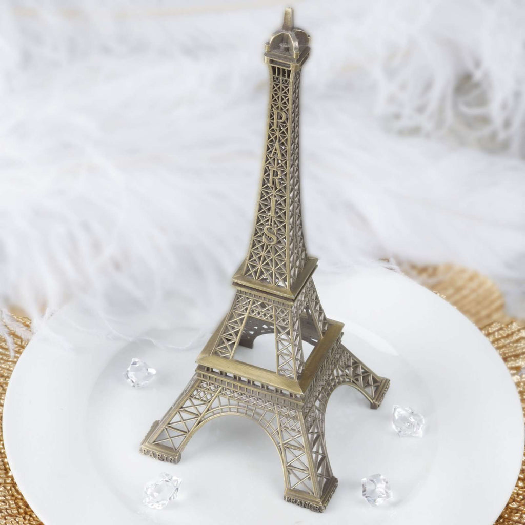 "10"" EIFFEL Tower Wedding Party Event Tabletop Centerpiece Decoration - BRONZE"