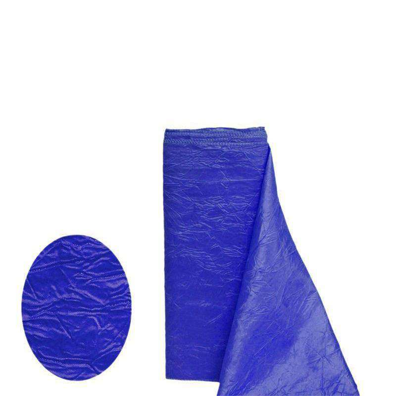 "ROYAL BLUE Crinkle Taffeta Wedding Party Event Fabric Bolt - 54""x10 Yards"