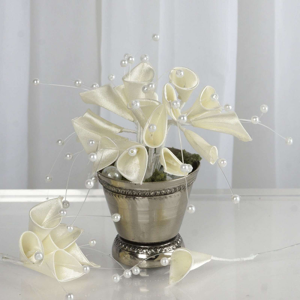 72 EXTRA HIGHLIGHTS Craft Lilies - Ivory