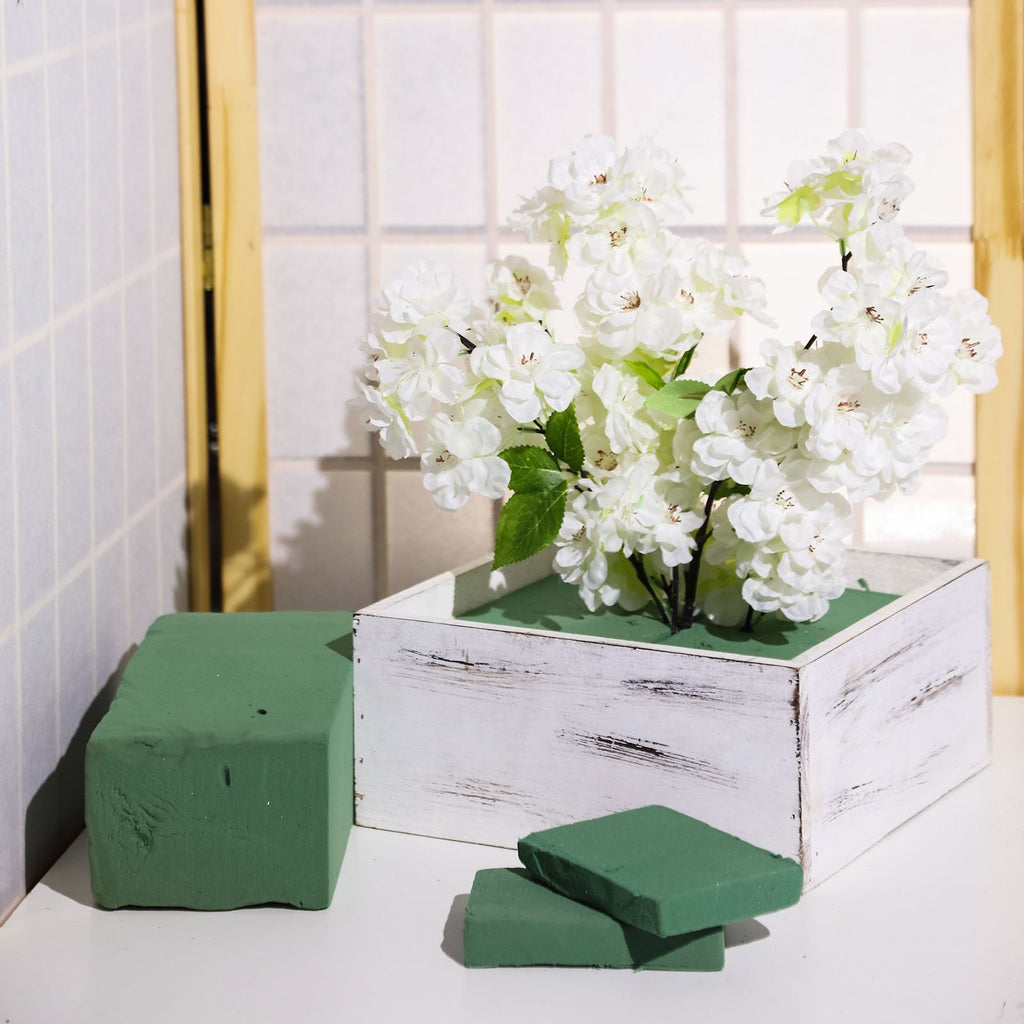 Set of 3 | Green Wet Foam Floral Bricks | Styrofoam Blocks for Floral Arrangements