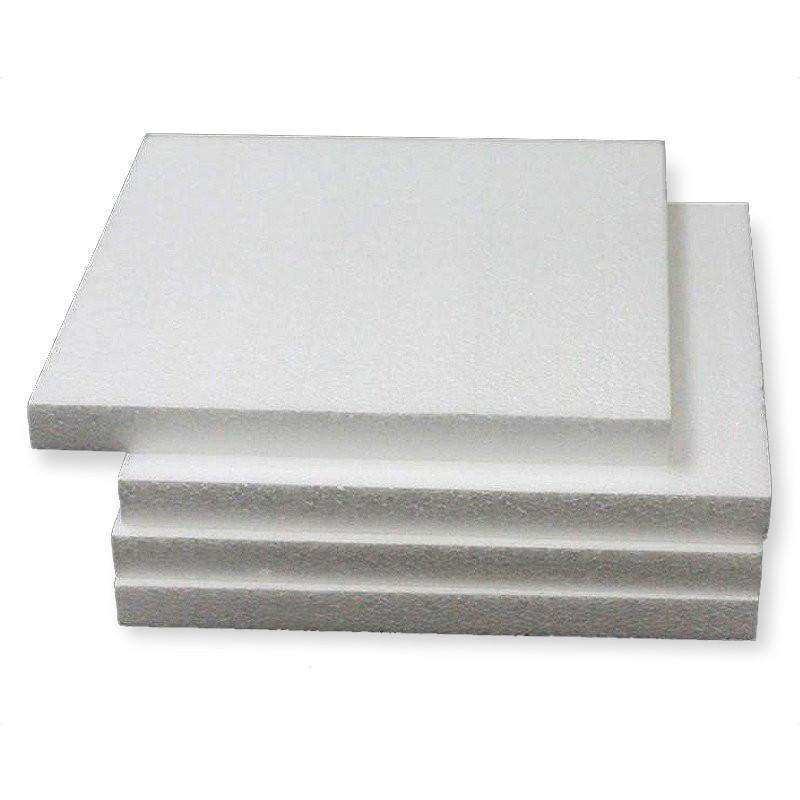 "12 x MY LUCKY BREAK Foam Rectangle Flats  White 12"" x 12"""