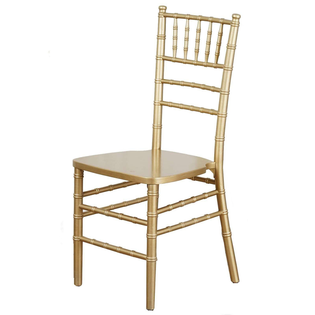 Beechwood Chiavari Chairs Wedding Party Event - Gold - Buy 1 Get 1 FREE