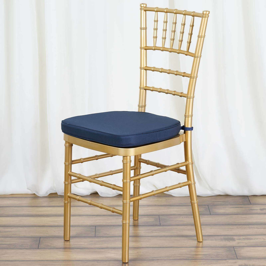 "Tables and Seating Chiavari Chair Cushion - Navy Blue 1.75"" Thick"