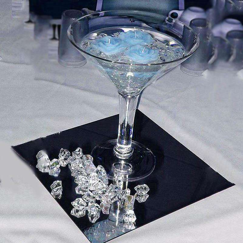 300 pcs TURQUOISE Large Acrylic Ice Crystals Wedding Party Table Scatters Decorations