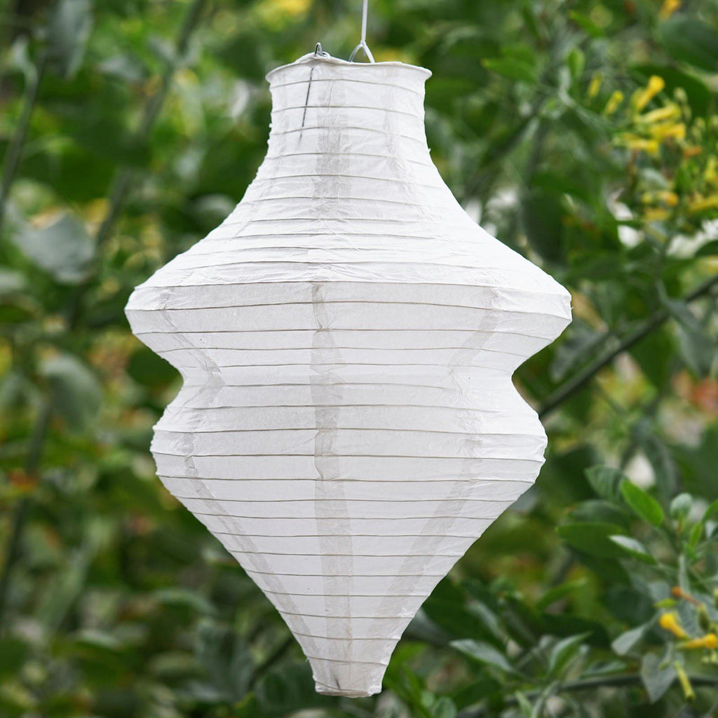 Pack of 3 White Beehive Hanging Chinese Paper Lanterns