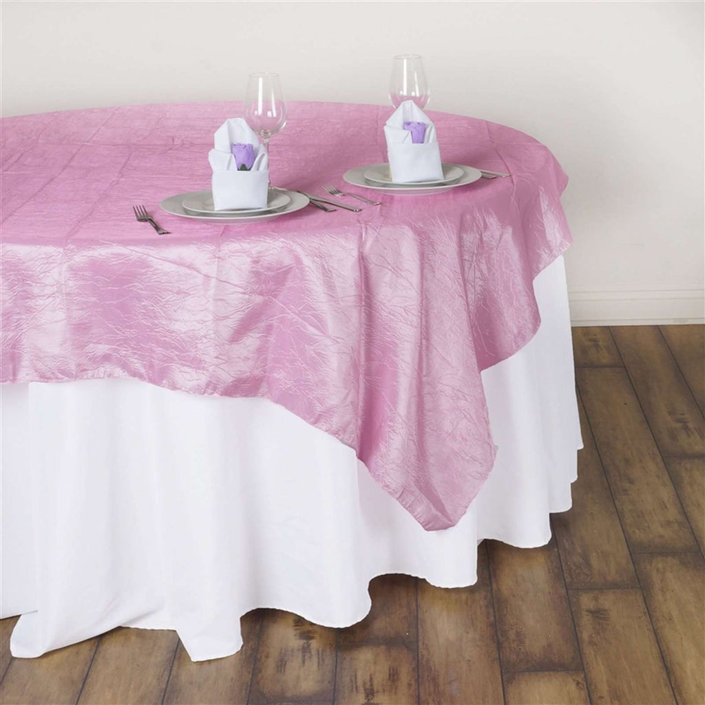 "60"" Overlay Crinkle - Pink"