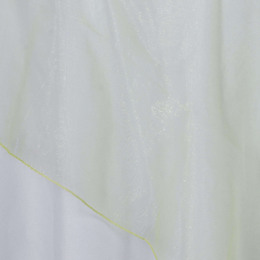 "72"" Overlay Organza - Apple Green"