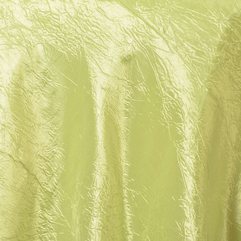 "90"" Overlay Crinkle - Apple Green"