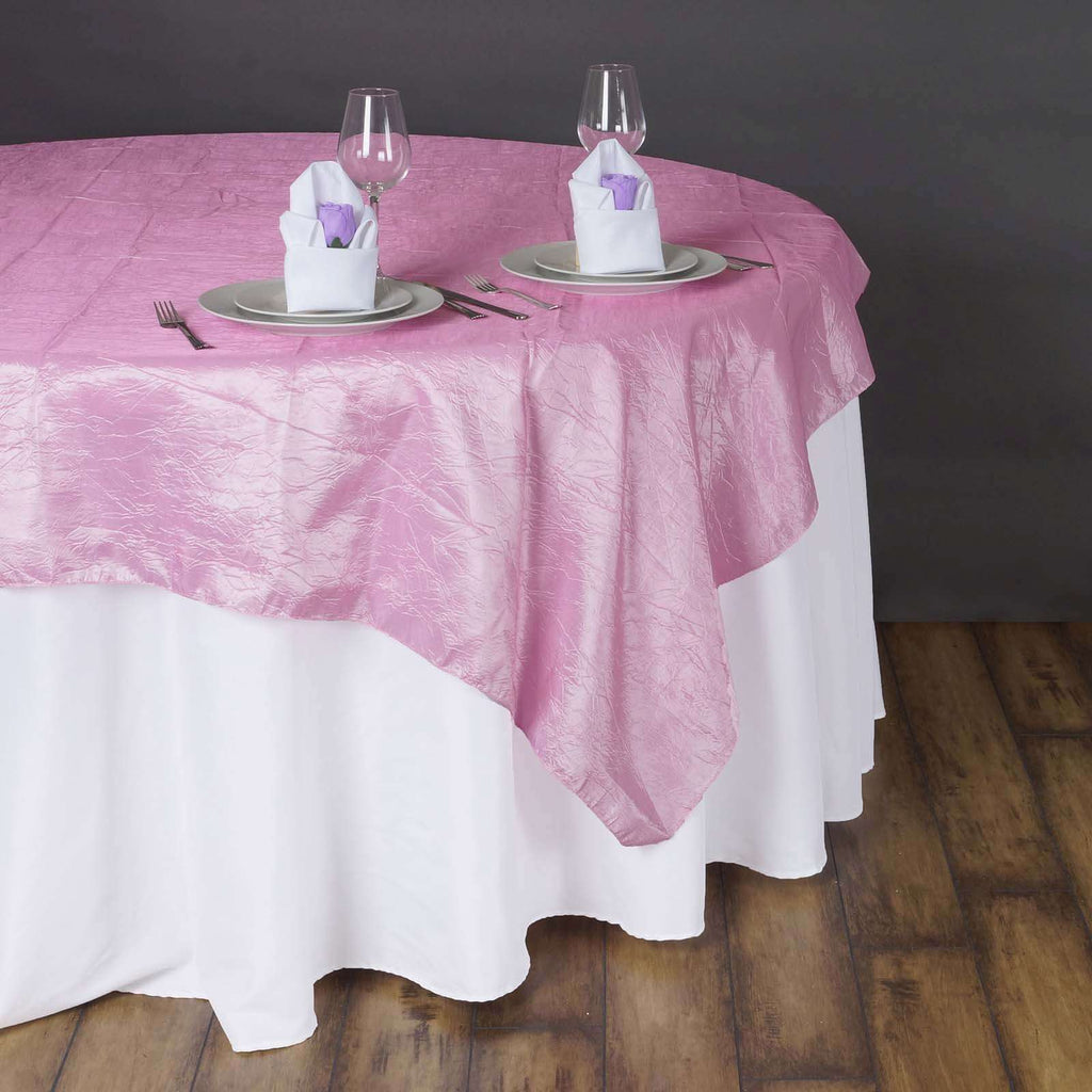 "90"" Overlay Crinkle - PINK"