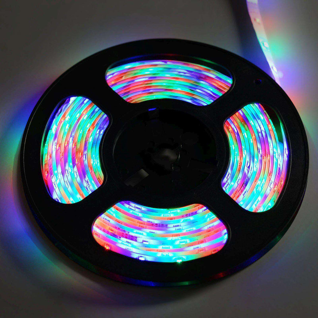 16FT 300 LED Flexible Strip Light SMD With 24 Key IR REMOTE + POWER SUPPLY