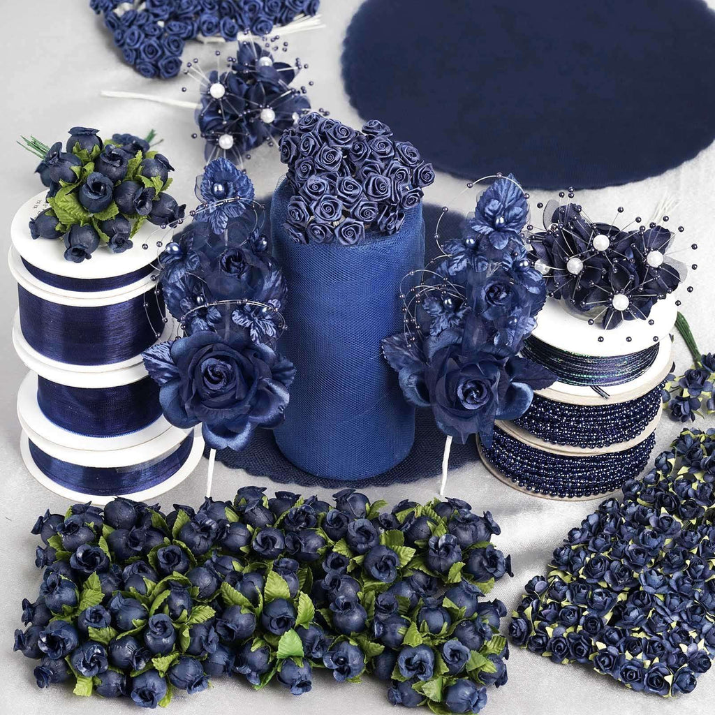 Huge lot of assorted decorations - Navy Blue