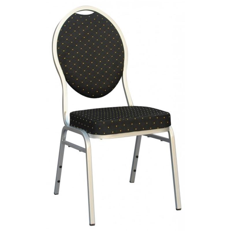Premium Black Madrid Spandex Banquet Chair Covers For Wedding Restaurant Events