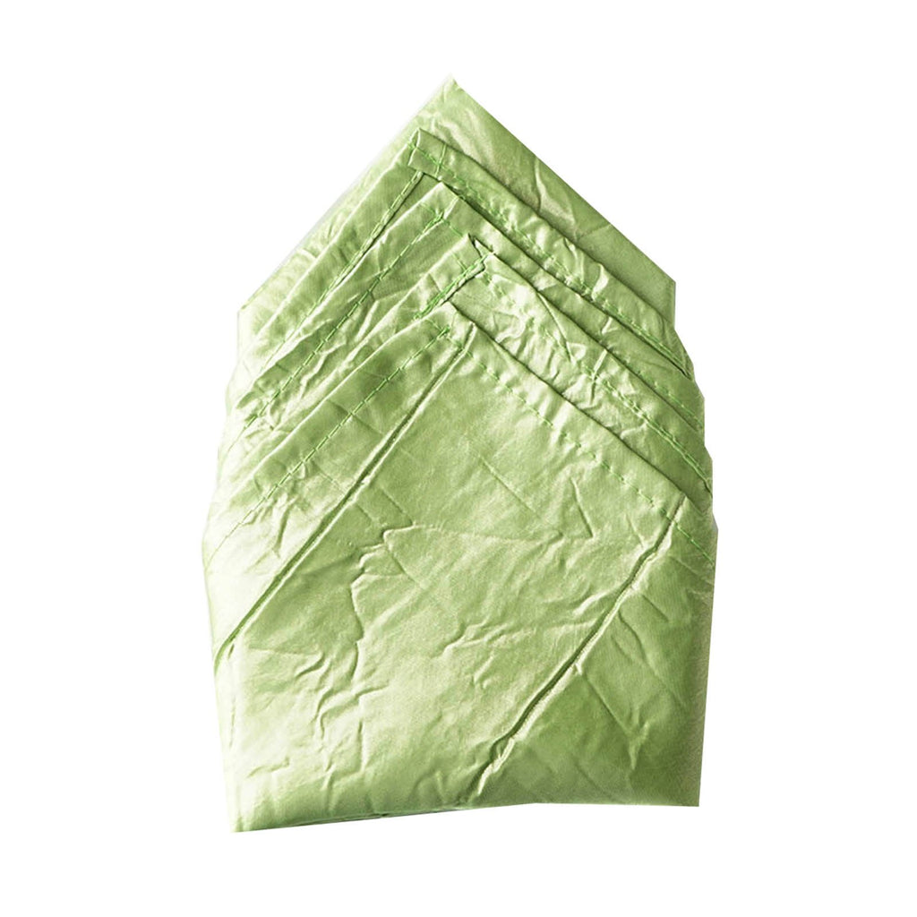 5 PCS Wholesale Apple Green Taffeta Crinkle Napkins For Wedding Birthday Party Tableware - 20x20""